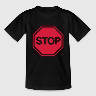stop sign - Teenage T-Shirt