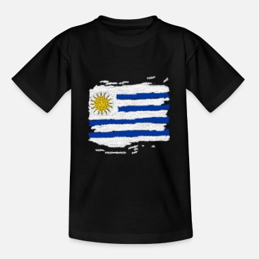 b349ab322 Uruguay Bandera de Uruguay - Camiseta adolescente