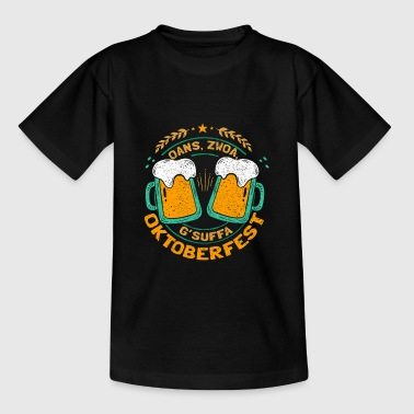 Oktoberfest Gsuffa - Teenager T-Shirt