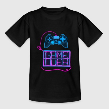 Gaming Gameover Game Nerd Geek - Teenage T-Shirt