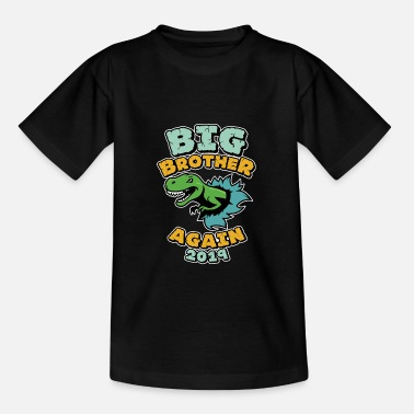 Offspring Big Brother 2019 - Conjunto de Dinosaurio de Offspring - Camiseta adolescente