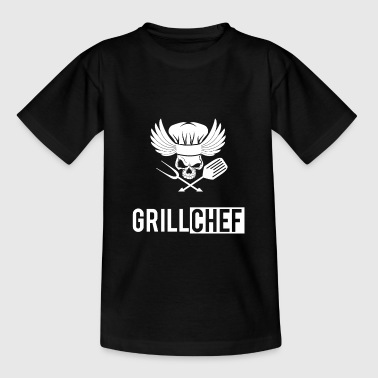 Grill chef grilling griller birthday - Teenage T-Shirt