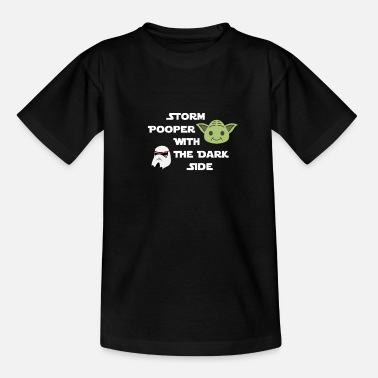 Storm Shadow storm pooper with the dark side - Teenager T-Shirt