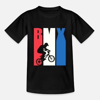 Bmx Design rétro cool BMX - T-shirt Ado