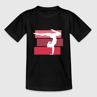Turnerin Handstand gymnastik turnen - Teenager T-Shirt