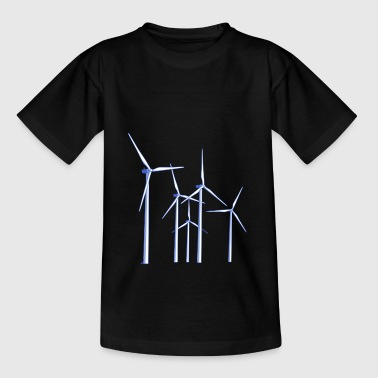 wind turbines - Teenage T-Shirt