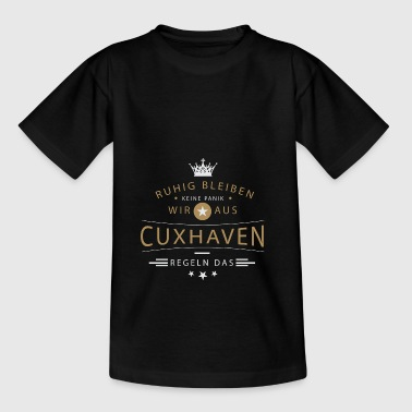 Cuxhaven Stadt - Teenager T-Shirt