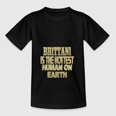 brittani - Teenage T-Shirt