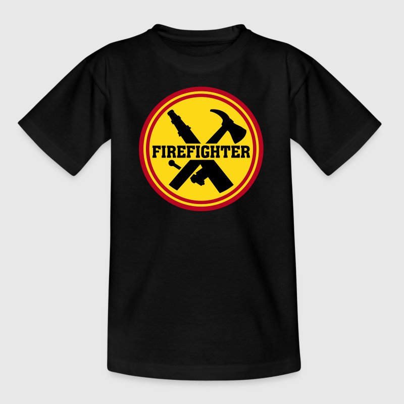 Firefighter   - Teenage T-shirt