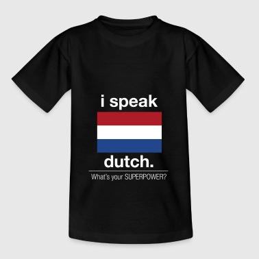 Nederlands Grootmacht - Teenager T-shirt