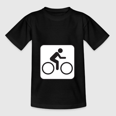 bike-rider - Teenage T-Shirt