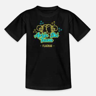 Apres Ski Team Flachau JGA Party Hut T-Shirt - Teenage T-Shirt