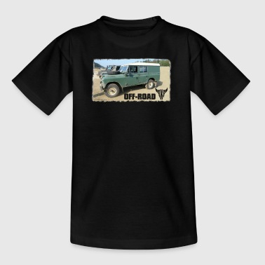 Landy Landie Serie 3 Series 109 4x4 - Teenage T-Shirt