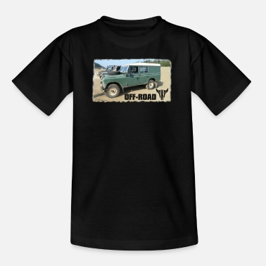 Land Rover Landy Landie Serie 3 Series 109 4x4 - Teenage T-Shirt