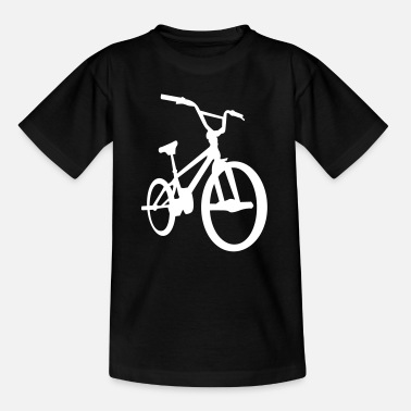 Peg BMX - Bicycle Moto Cross - Fahrrad -Silhouette-Rad - Teenager T-shirt