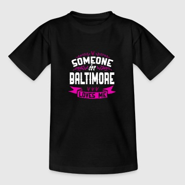 Baltimore - Teenager T-Shirt