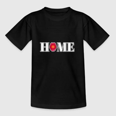 Kirgisistan Hjem gave - Teenager-T-shirt