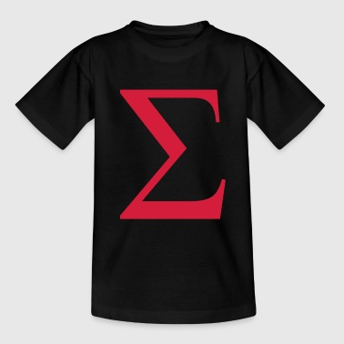 sigma greek - Teenage T-Shirt