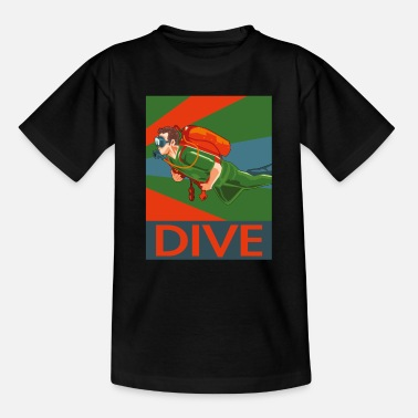 Scuba Diving Diver Scuba Diving Scuba Diving Diver Diving - Teenage T-Shirt