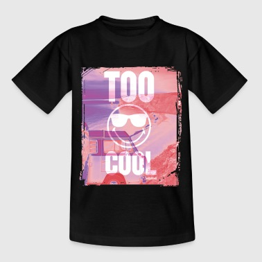 SmileyWorld 'Too Cool' teenager t-shirt - T-skjorte for tenåringer