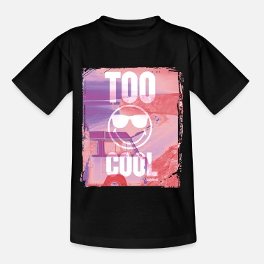 Smiley SmileyWorld 'Too Cool' teenager t-shirt - Camiseta adolescente