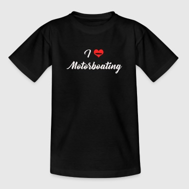 motorboat - Teenage T-Shirt