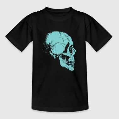 Skelet schedel van beenderen - Teenager T-shirt
