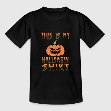 Halloween Trick or Treat All Saints Day - Teenage T-Shirt