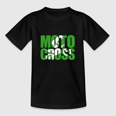 Motocross Shadow 2 - Teenage T-Shirt