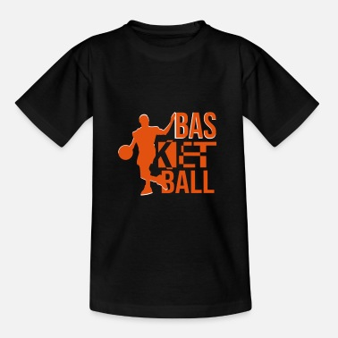 Basket basketball - Teenager T-Shirt