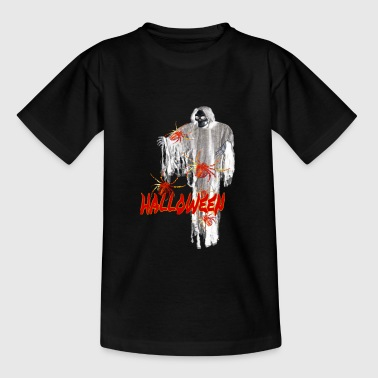 Halloween Gespenst Spinne Spider Grusel - Teenager T-Shirt
