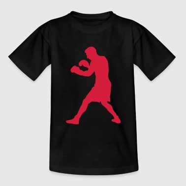 boxer boxing sport - Teenage T-shirt
