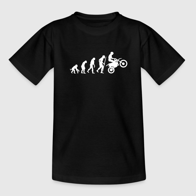 evolution_motorcycling_v - Camiseta adolescente