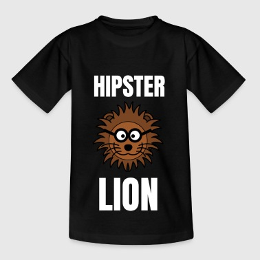 Hipster Lion Hipster Lion | Lion motif as a hipster - Teenage T-Shirt