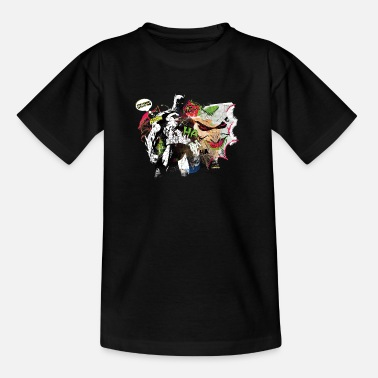 Batman Joker Batman Comic Composition Joker Tee-shirt Ado - T-shirt Ado