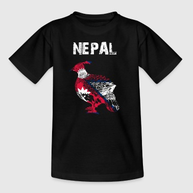 Nation design Nepal Monal GMD - Teenager-T-shirt