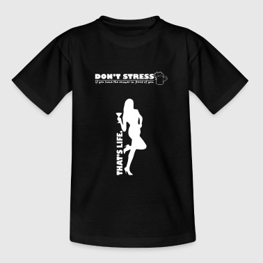 Geen stress - Teenager T-shirt