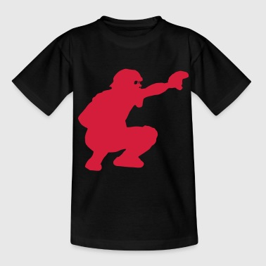 catcher baseball - Teenage T-shirt