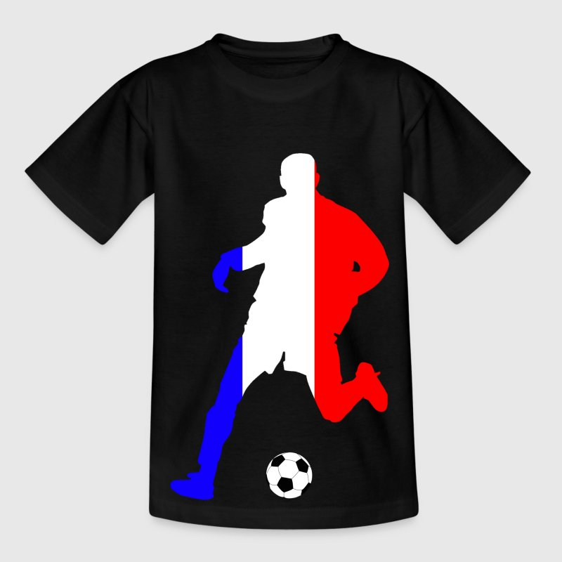 joueur de foot france - Teenage T-shirt