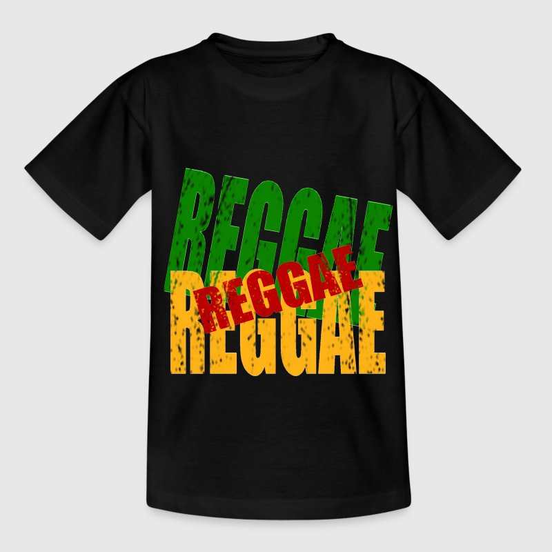 reggae - Teenager-T-shirt