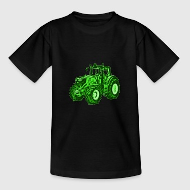 Traktor Landwirt Bauer Trecker Landmaschine - Teenager T-Shirt