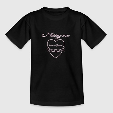 Marry me before I get fat - Camiseta adolescente