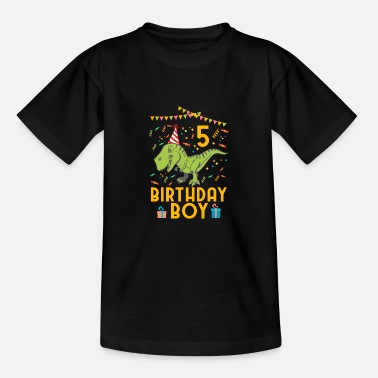 5th Birthday Birthday Boy - 5th birthday - Teenage T-Shirt