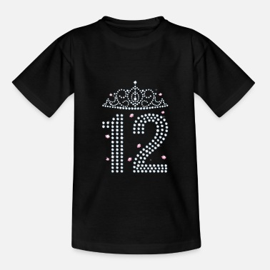 12 Birthday 12 years 12th birthday - Teenage T-Shirt