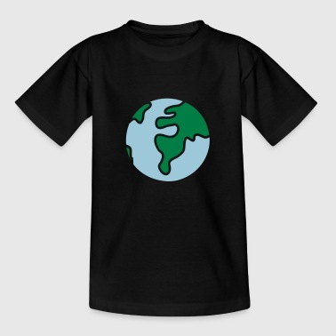 World Globe globe - world - Teenage T-Shirt