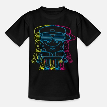 Spongebob Mens' Shirt SpongeBob Triple - Teenage T-Shirt
