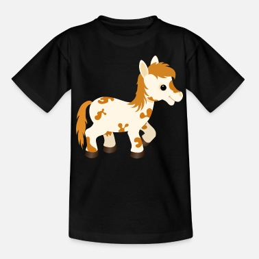 Spotted Cute Appaloosa Pony Horse - Teenage T-Shirt