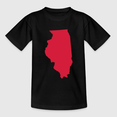 illinois usa - Teenager-T-shirt