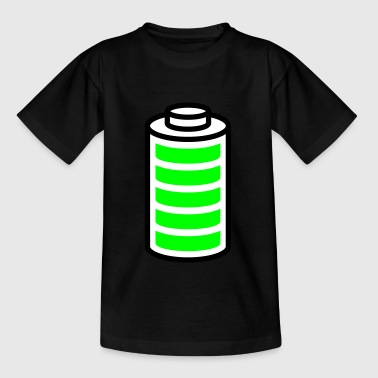 Volle Batterie - Teenager T-Shirt