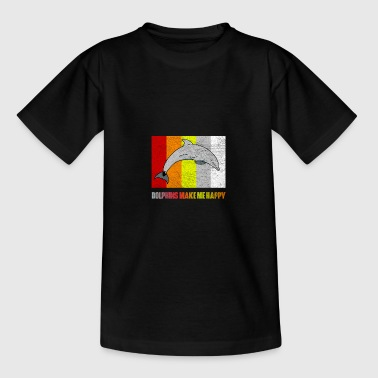 Hvaler delfin - Teenager-T-shirt